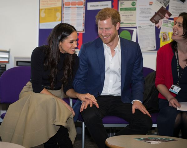Harry and Meghan visit the Nottingham Academy school on Dec. 1.