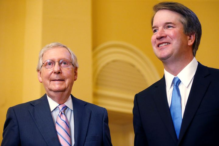 Millions will be spent helping Brett Kavanaugh win confirmation. Voters won't know who paid for them.