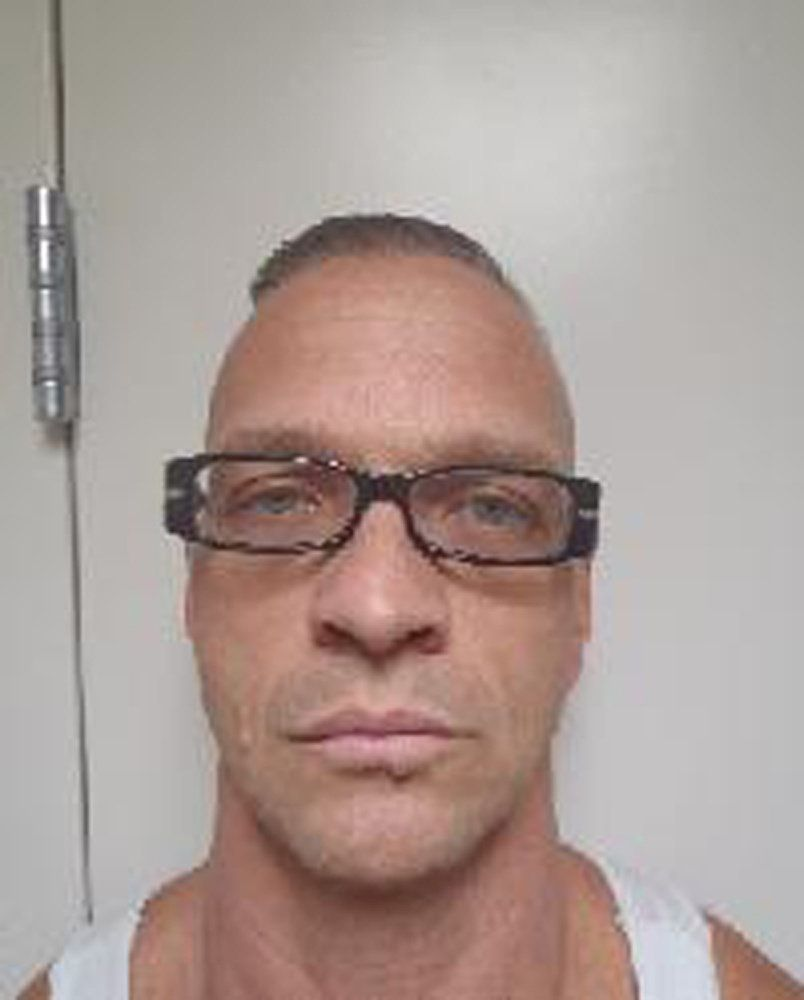 Scott Raymond Dozier appears in a photo provided by the Nevada Department of Corrections, July 11, 2018.   Nevada Department of Corrections/Handout via REUTERS     ATTENTION EDITORS - THIS IMAGE WAS PROVIDED BY A THIRD PARTY.