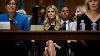 WASHINGTON, DC - July 11: White House Senior Advisor Ivanka Trump looks on during a Commerce Committee hearing on paid family leave July 11, 2018 on Capitol Hill in Washington, DC. Legislators are hoping to add a paid family leave component to the Social Security Administration. (Photo by Aaron P. Bernstein/Getty Images)