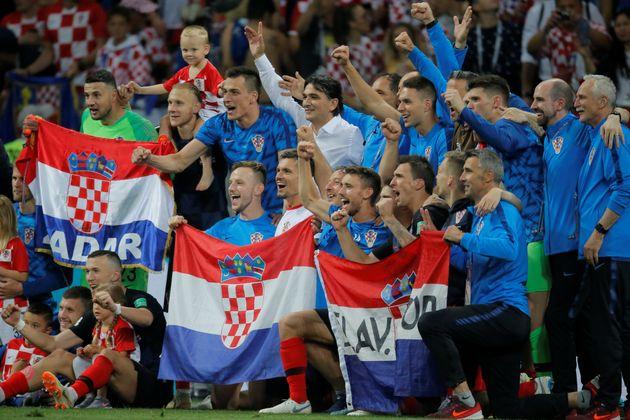 크로아티아가 처음으로 월드컵 결승전에