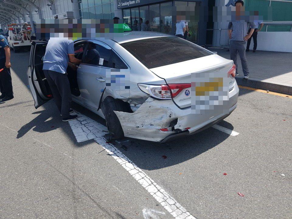 김해공항 질주사고 가해자의 신원이
