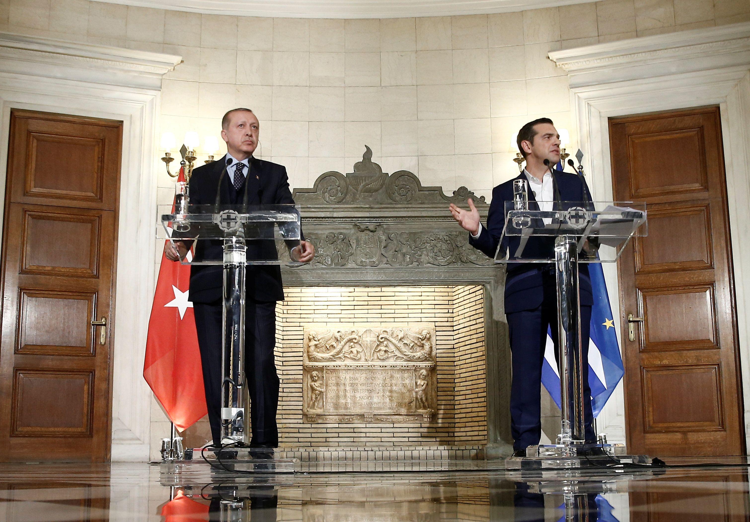Σήμερα η συνάντηση του Τσίπρα με τον Ερντογάν στο περιθώριο των εργασιών της Συνόδου του