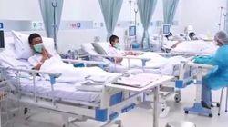 Les premières images des enfants thaïlandais à l'hôpital après leur