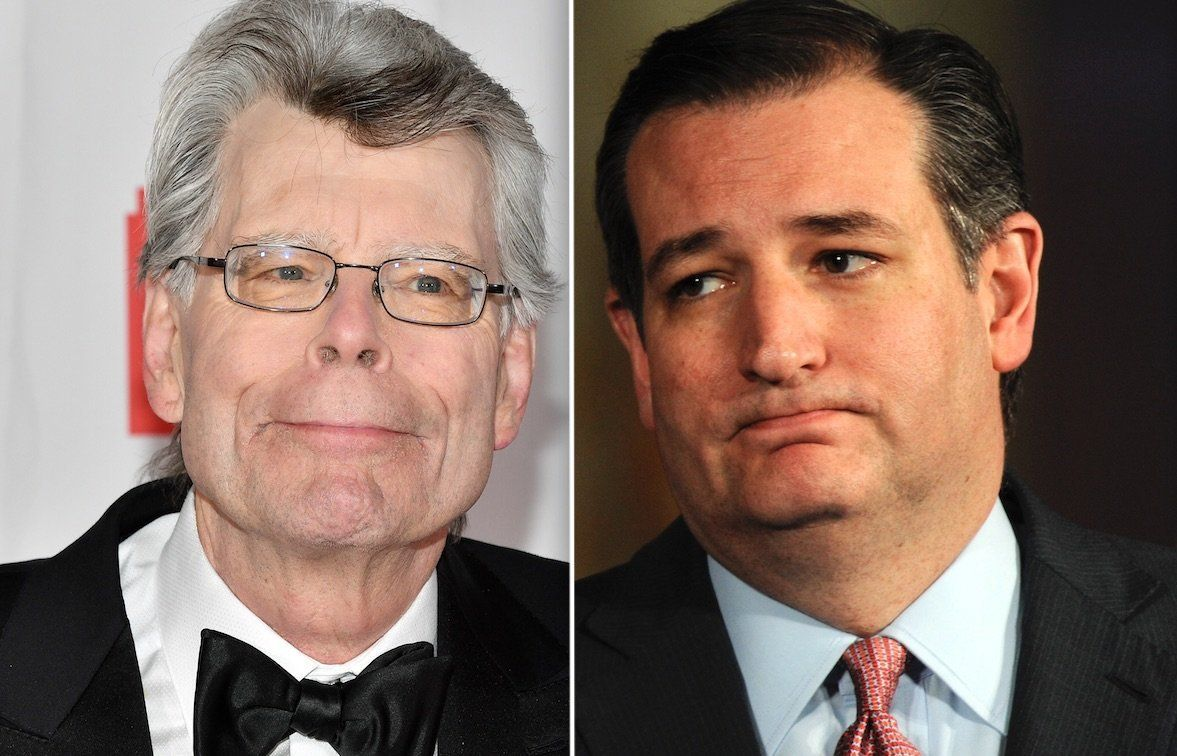 Stephen King Ted Cruz