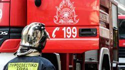 Τρεις ανήλικοι εγκλωβίστηκαν προσωρινά σε διαμέρισμα στον Κολωνό από τους πυκνούς καπνούς εξαιτίας φωτιάς σε
