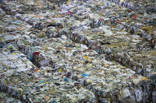 Le recyclage s'entasse aux Etats-Unis car la Chine n'en veut