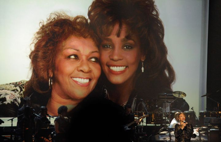 Cissy Houston performs during a tribute to her late daughter, Whitney Houston, in 2012.