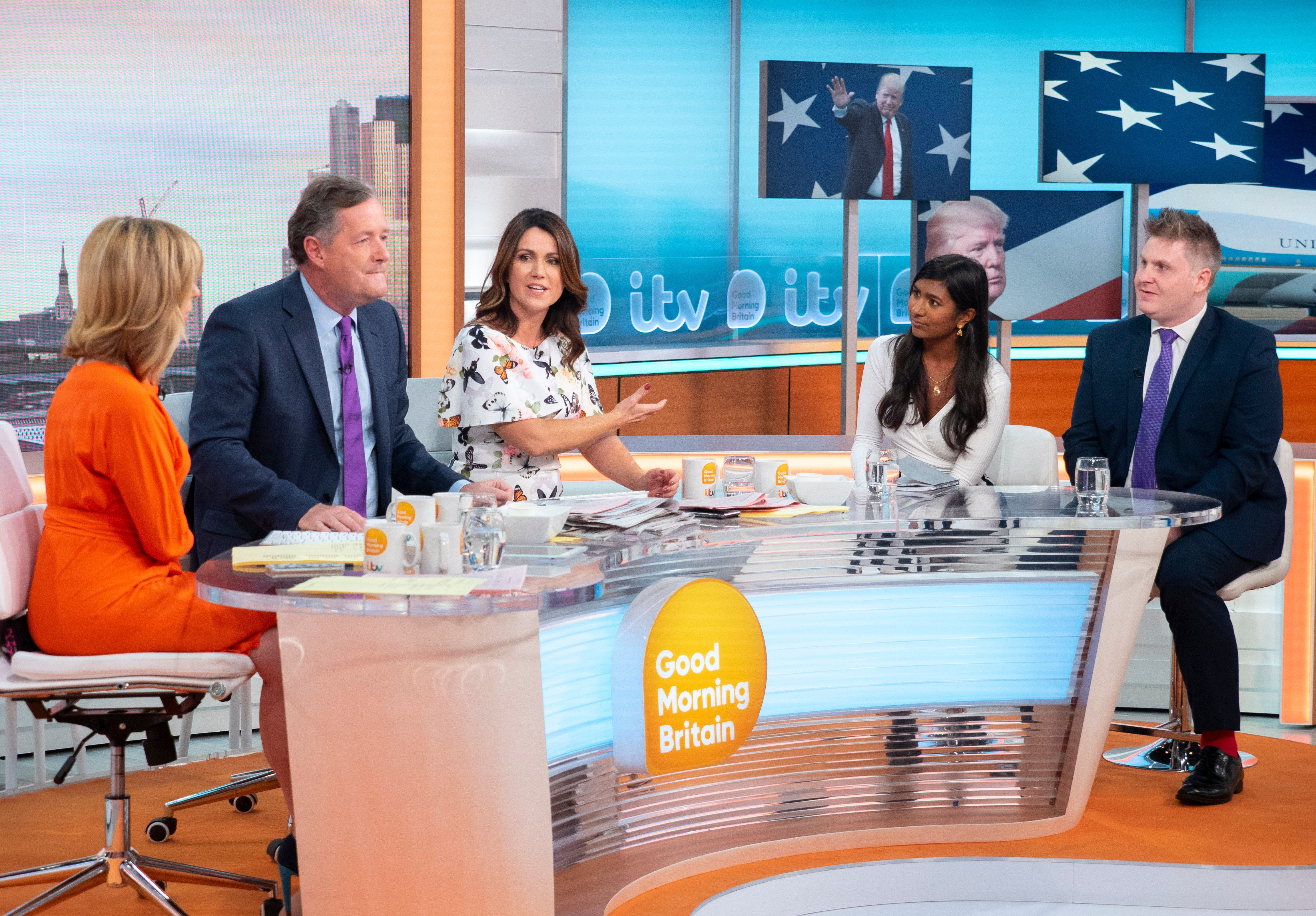 'Good Morning Britain' Guest Brands Piers Morgan An 'Idiot' For Not Knowing His