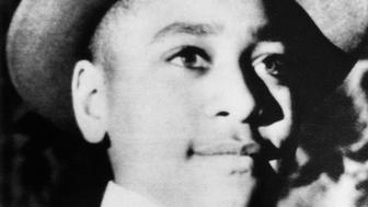 Young Emmett Till wears a hat. Chicago native Emmett Till was brutally murdered in Mississippi after flirting with a white woman.