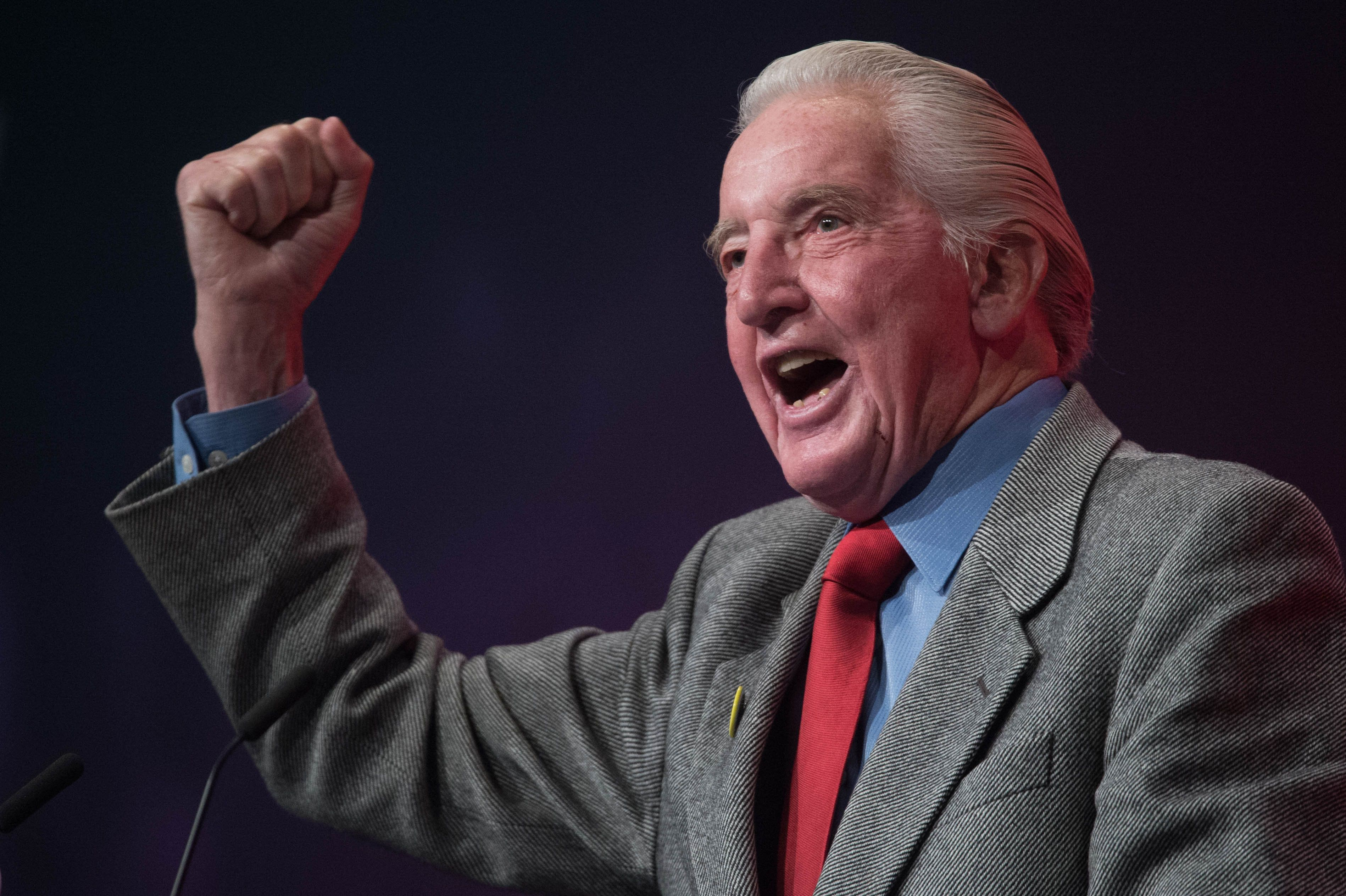 Labour MP Dennis Skinner Calls Donald Trump A 'Fascist' In The House Of