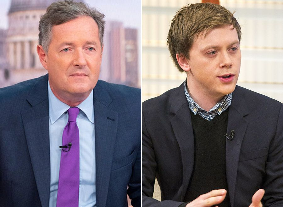 Piers Morgan Cancels Journalist Owen Jones' 'Good Morning Britain' Interview After Twitter Row