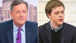 Piers Morgan Cancels Journalist Owen Jones' 'Good Morning Britain' Interview After Twitter Row