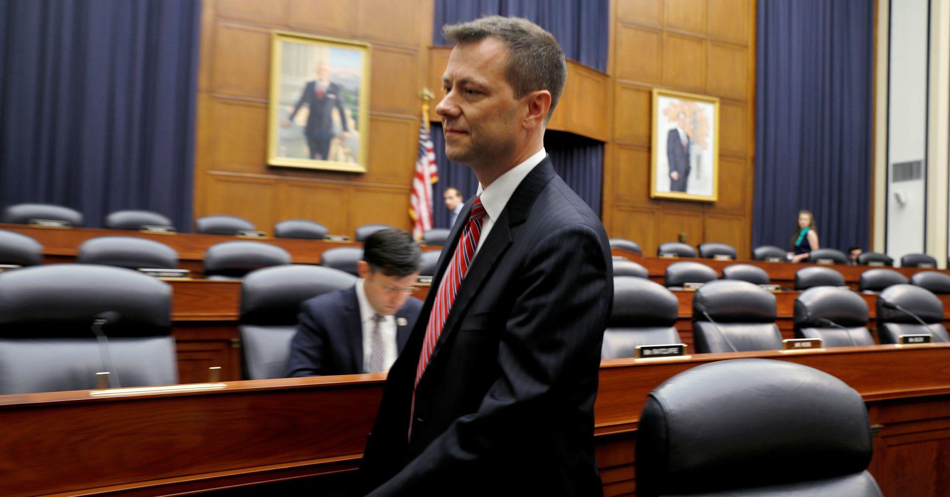 FBI Agent Peter Strzok Calls GOP Hearing On Anti-Trump Texts A 'Notch in Putin's Belt'