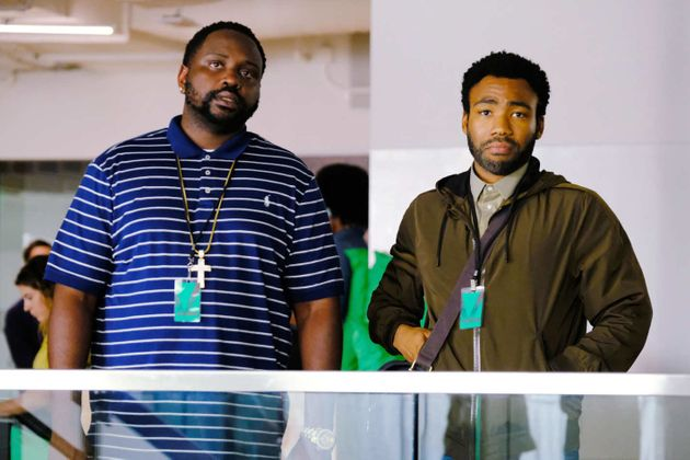Brian Tyree Henry and Donald Glover in
