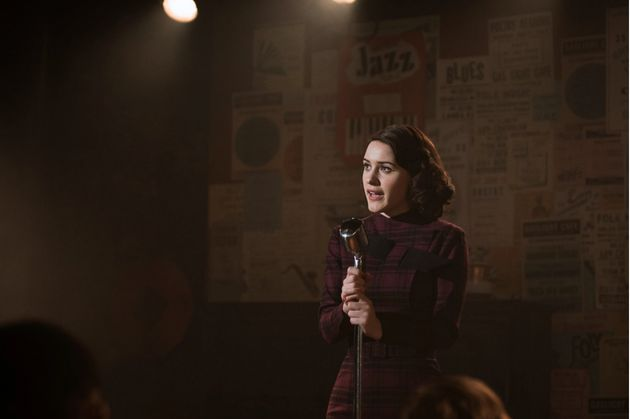 "Rachel Brosnahan in ""The Marvelous Mrs."