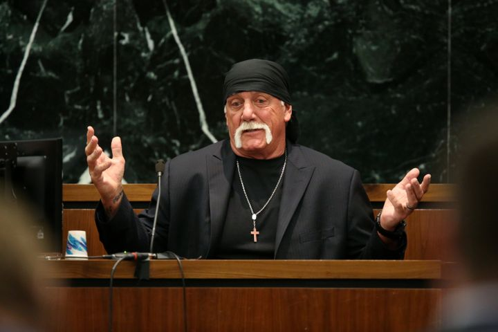 Terry Bollea, aka Hulk Hogan, sued Gawker.com for publishing a sex tape he was in. He won the suit, leading to the site&