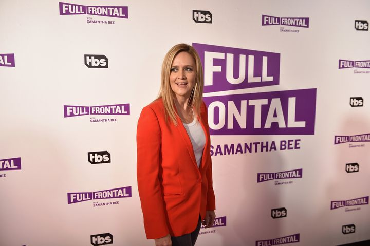 "Samantha Bee attends an event honoring ""Full Frontal With Samantha Bee."""