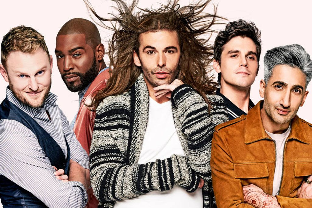"The cast of Netflix's ""Queer Eye."""