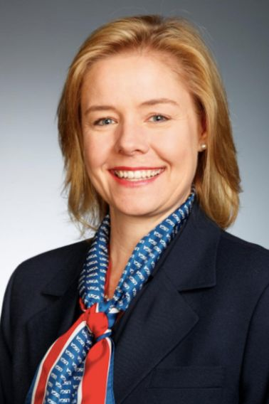 Sarah Hirshland is pictured during the 2018 USGA Annual Meeting in Miami Beach, Florida, U.S., February 2, 2018 in this hando