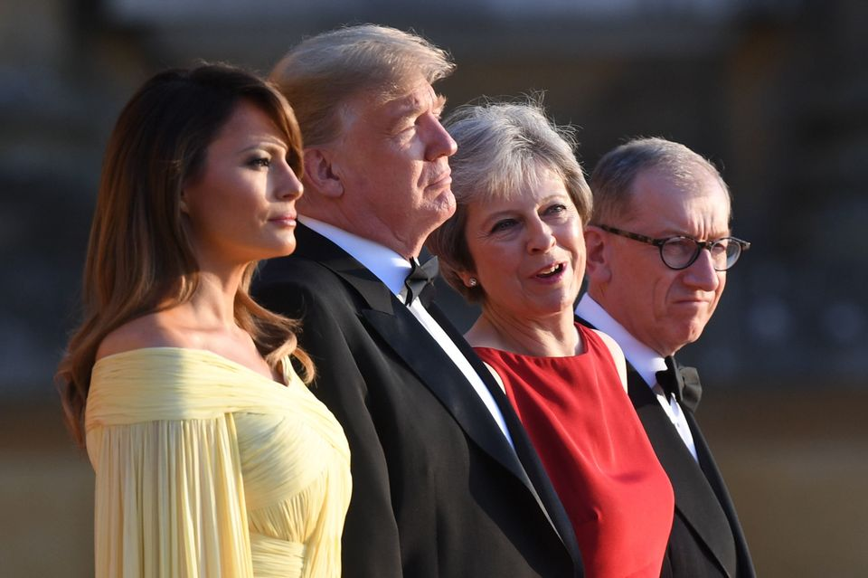What's It Like To Be In The Room With Donald Trump? How Theresa May Deals With The Deal-Making