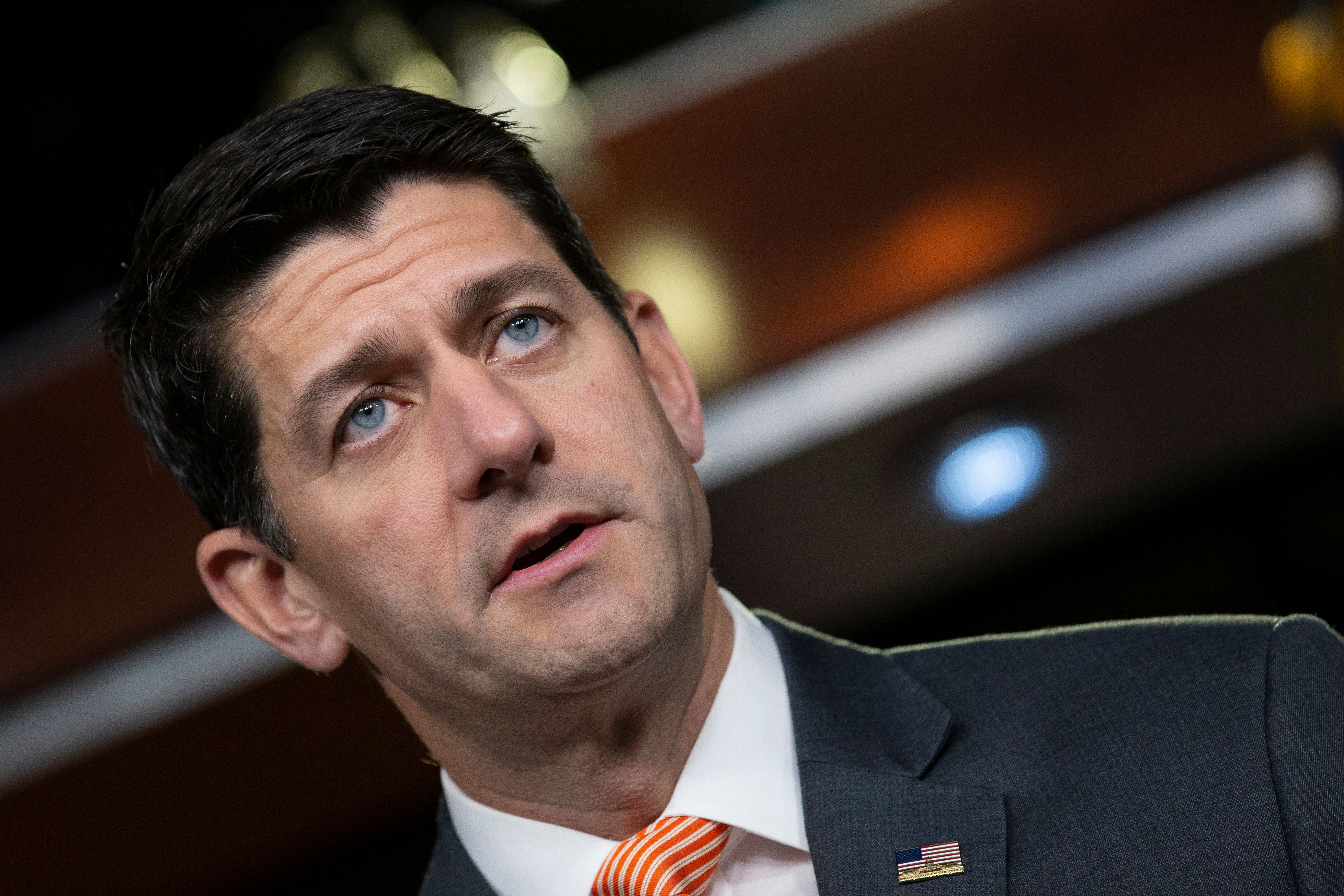 House Speaker Paul Ryan (R-Wis.) says he got an unpleasant surprise from some constituents.