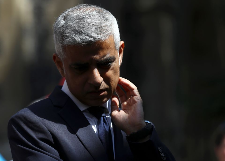 Sadiq Khan, the Mayor of London, in June