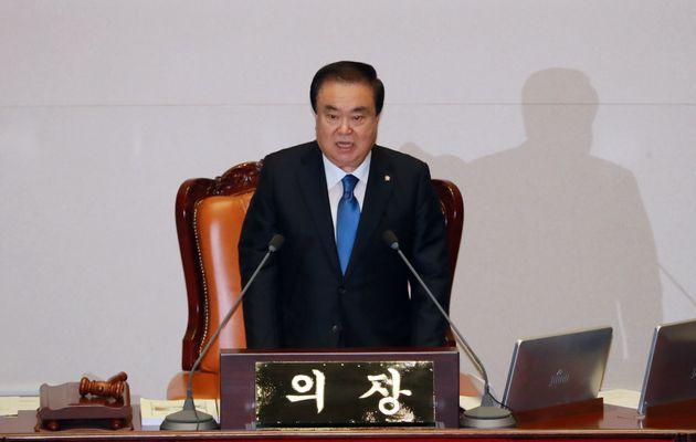 문희상이 20대 국회 후반기 의장으로