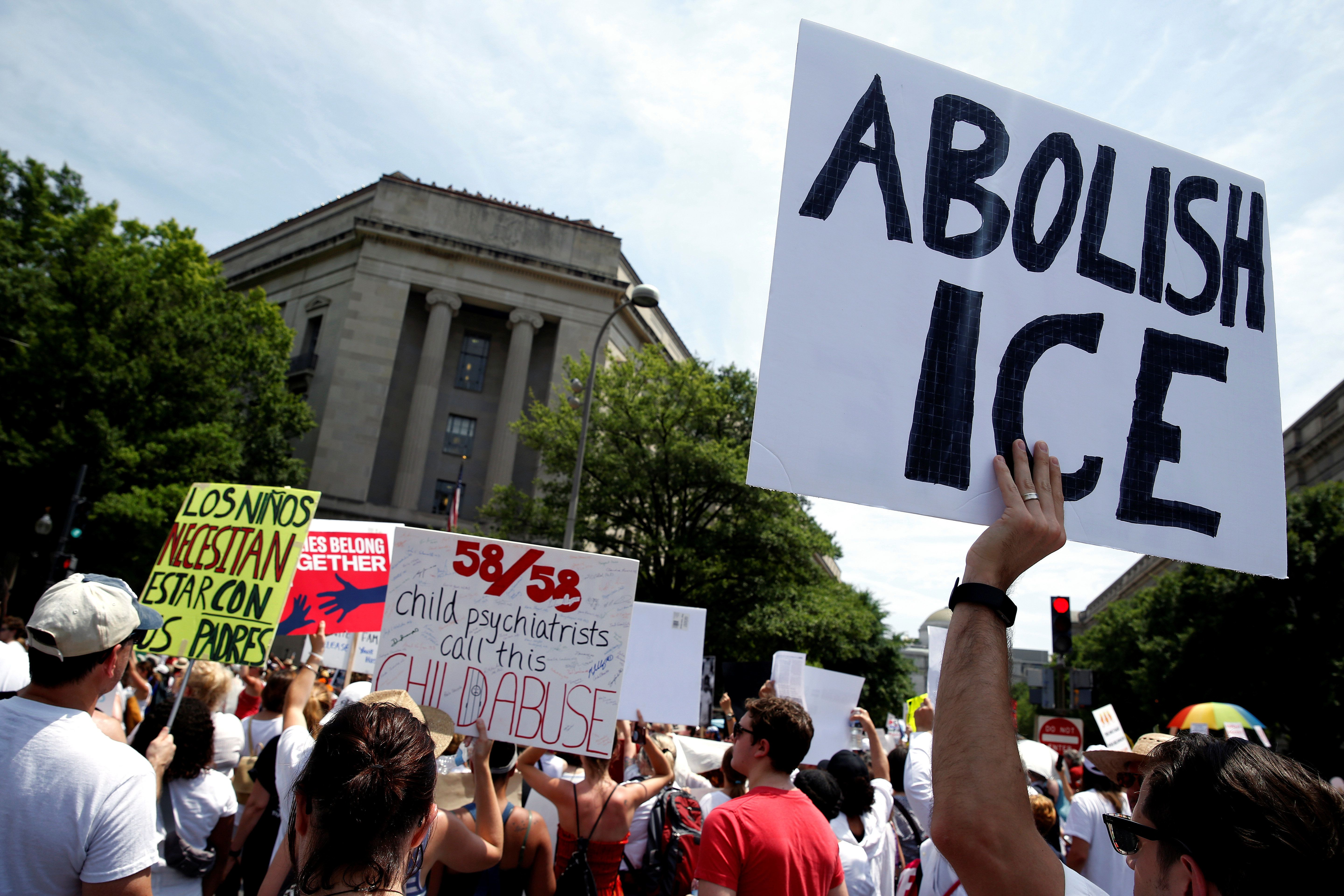 We've seen no concrete policy proposals for what immigration enforcement should or would really look like in a post-ICE