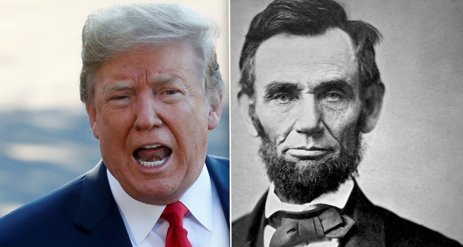 Donald Trump Abraham Lincoln