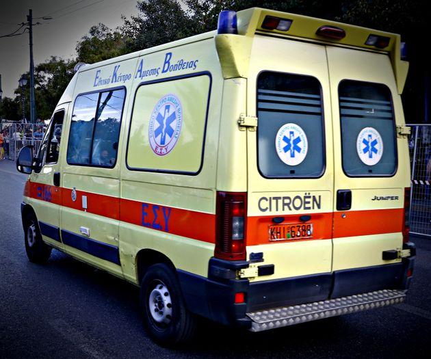 Ανατροπή λεωφορείου των ΚΤΕΛ στη Δράμα. Τραυματίστηκαν 14