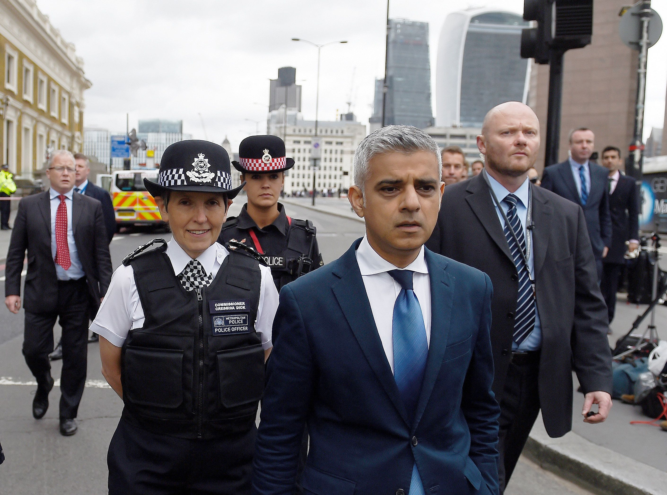 Trump Attacks Sadiq Khan For Doing A 'Bad Job' On Terrorism And Running The