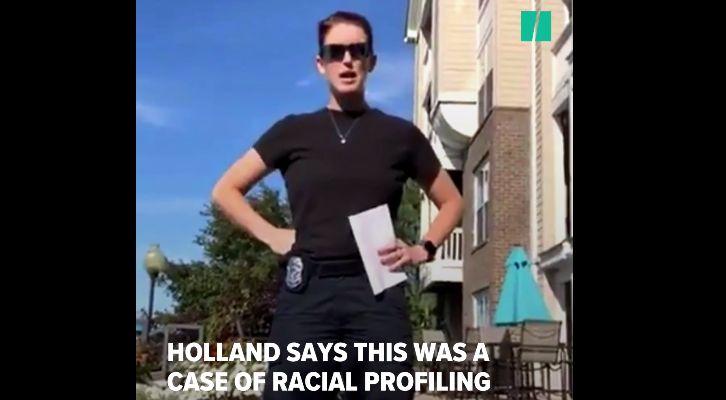 아파트 풀장에서 쉬고 있는 흑인 주민에게 나가라고 명령한 여성이 동영상에