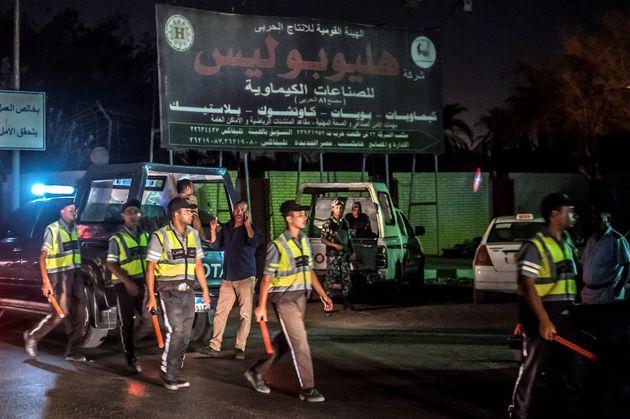 Égypte: grosse explosion d'un réservoir chimique près de l'aéroport du