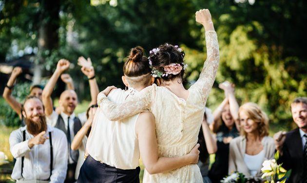Viele Hochzeitsplaner können erkennen, ob die Ehe halten wird.