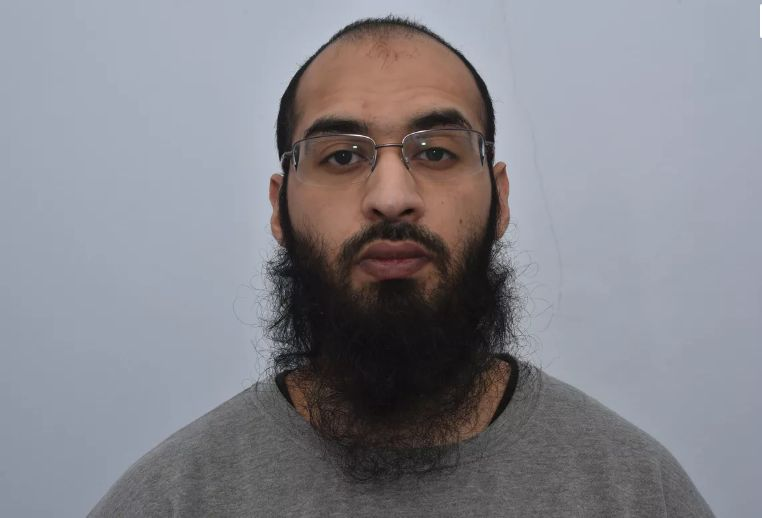 Husnain Rashid who was jailed today for..... over calls to attack Prince