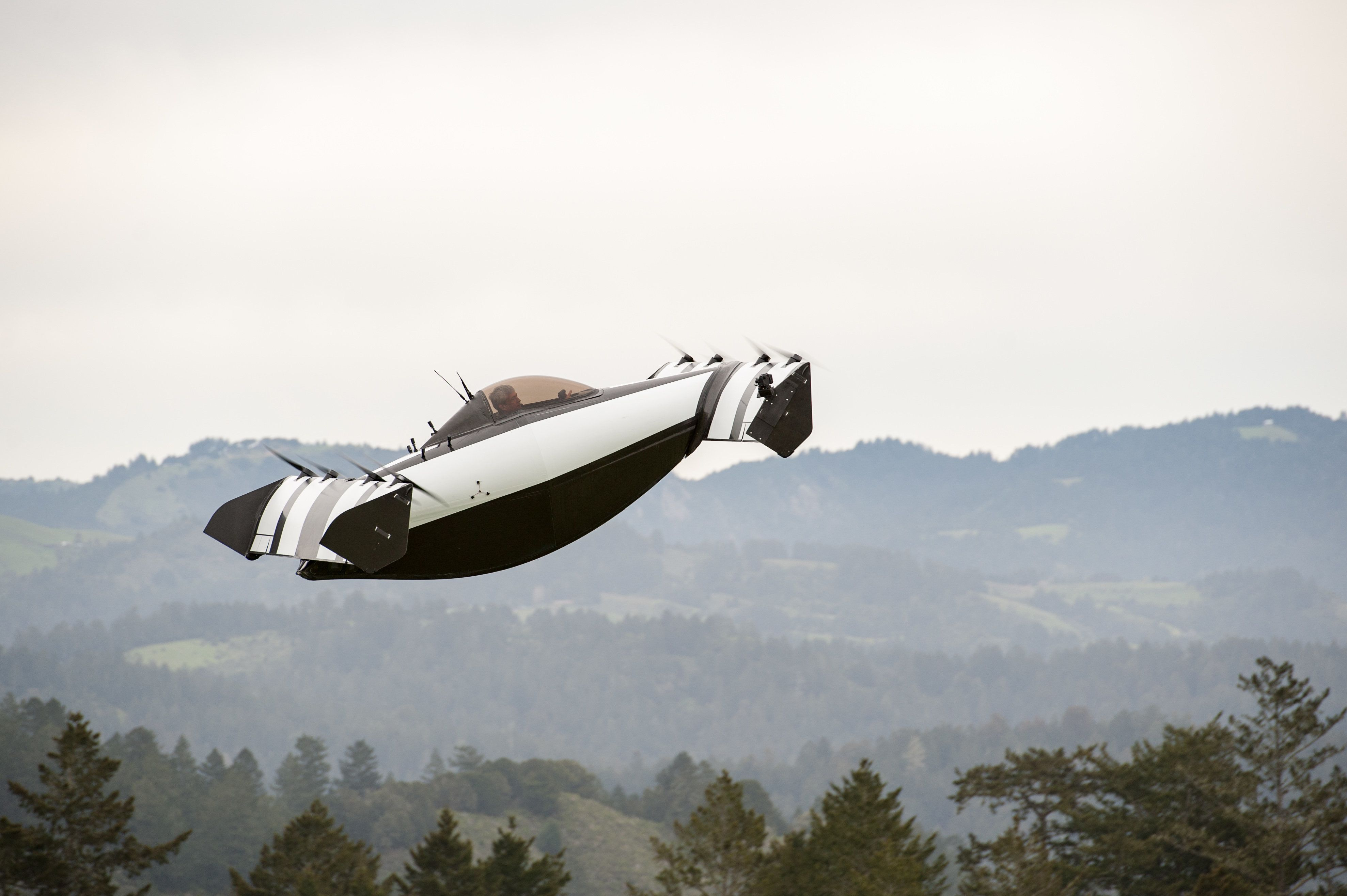 Google's Co-Founder Has Unveiled A Flying Car That Anyone ...