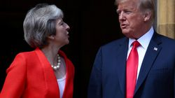 6 Key Moments From Trump And May's Extraordinary Chequers Press Conference