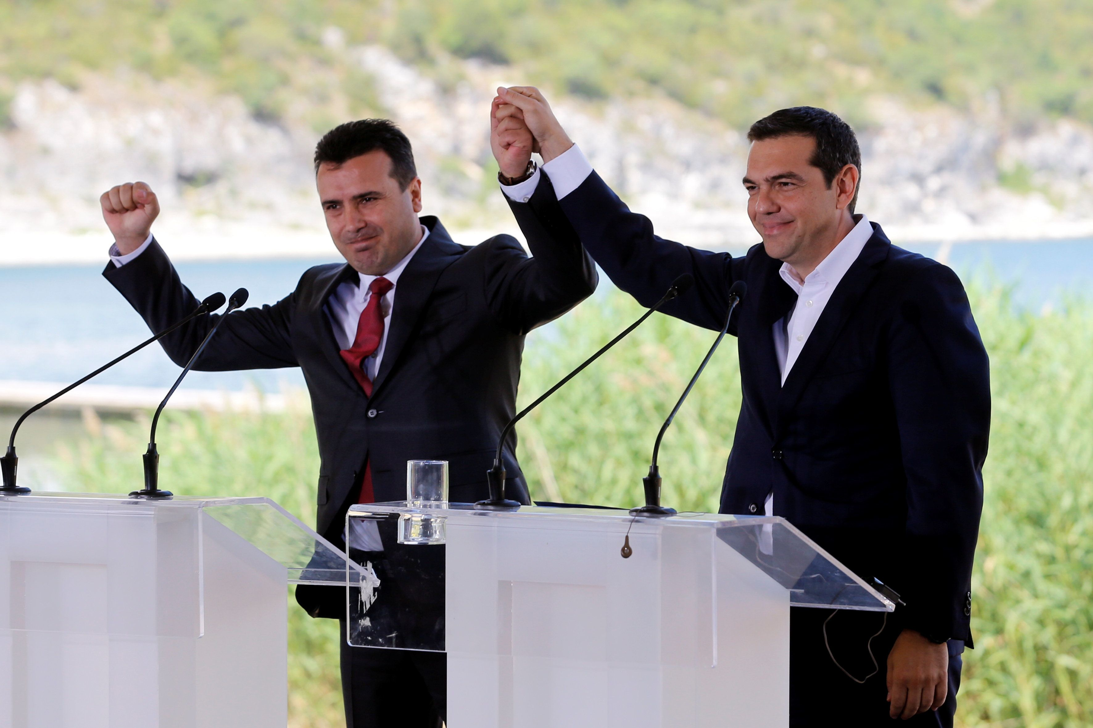 FAZ: «Η συμφωνία με τη Βόρεια Μακεδονία είναι ένα διπλωματικό