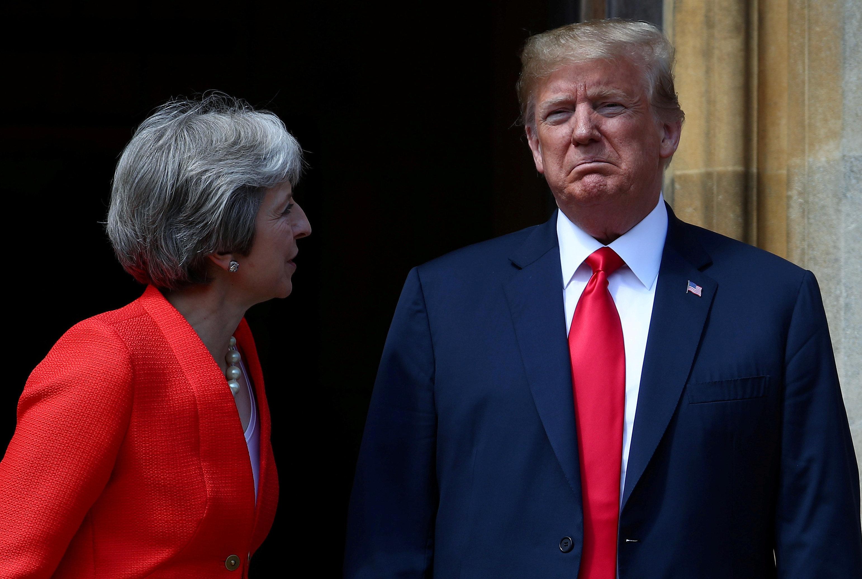 huffingtonpost.com - Marina Fang - Trump Calls His Theresa May Brexit Criticism 'Fake News'