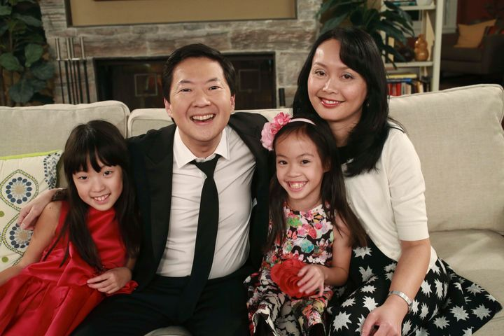 We rounded up some of Ken Jeong's best family moments.