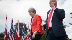 Donald Trump Stokes Brexit Hardliner Fears Over May's Exit