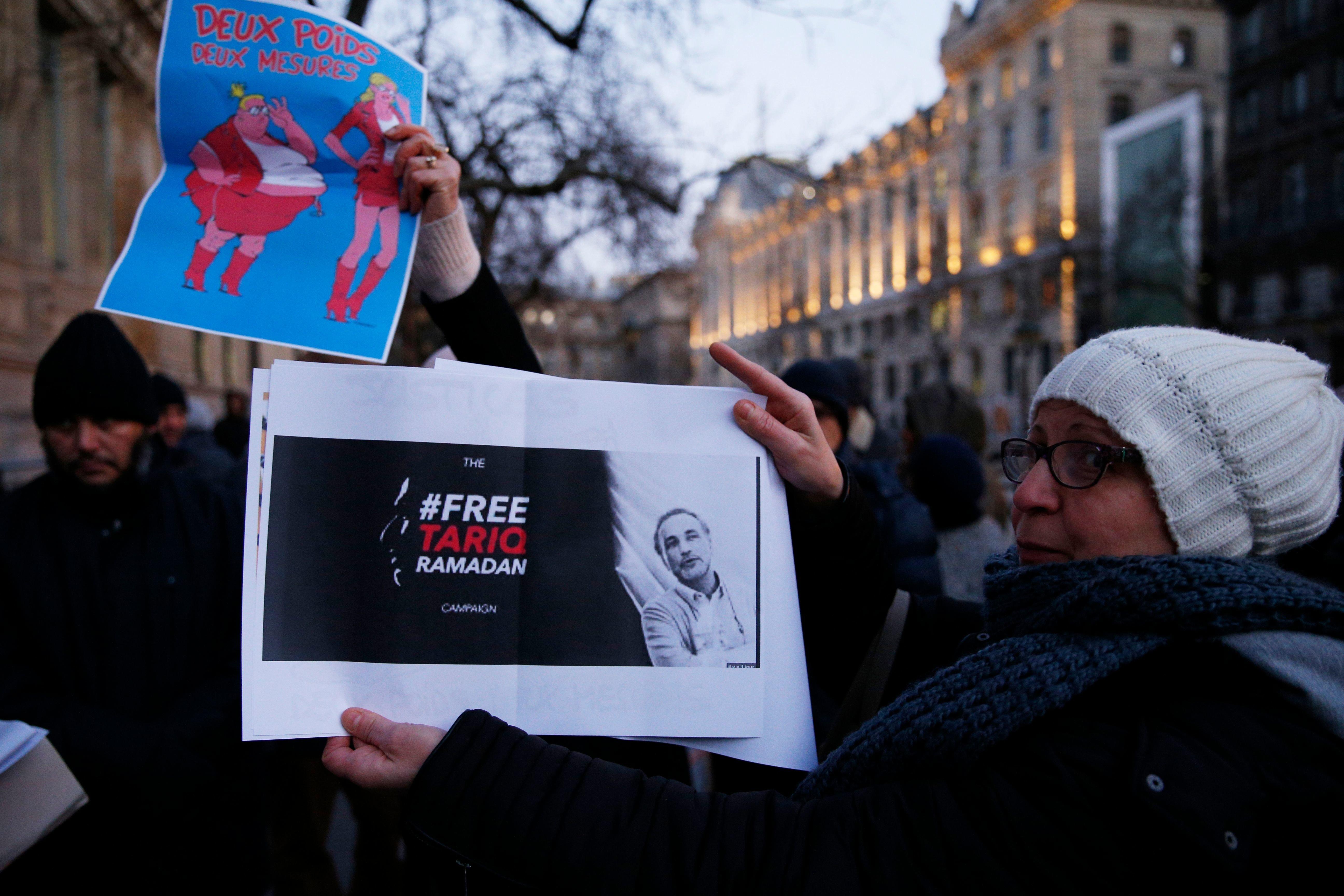 Affaire Tariq Ramadan: Mobilisation dans 25 villes du monde en soutien à l'islamologue suisse