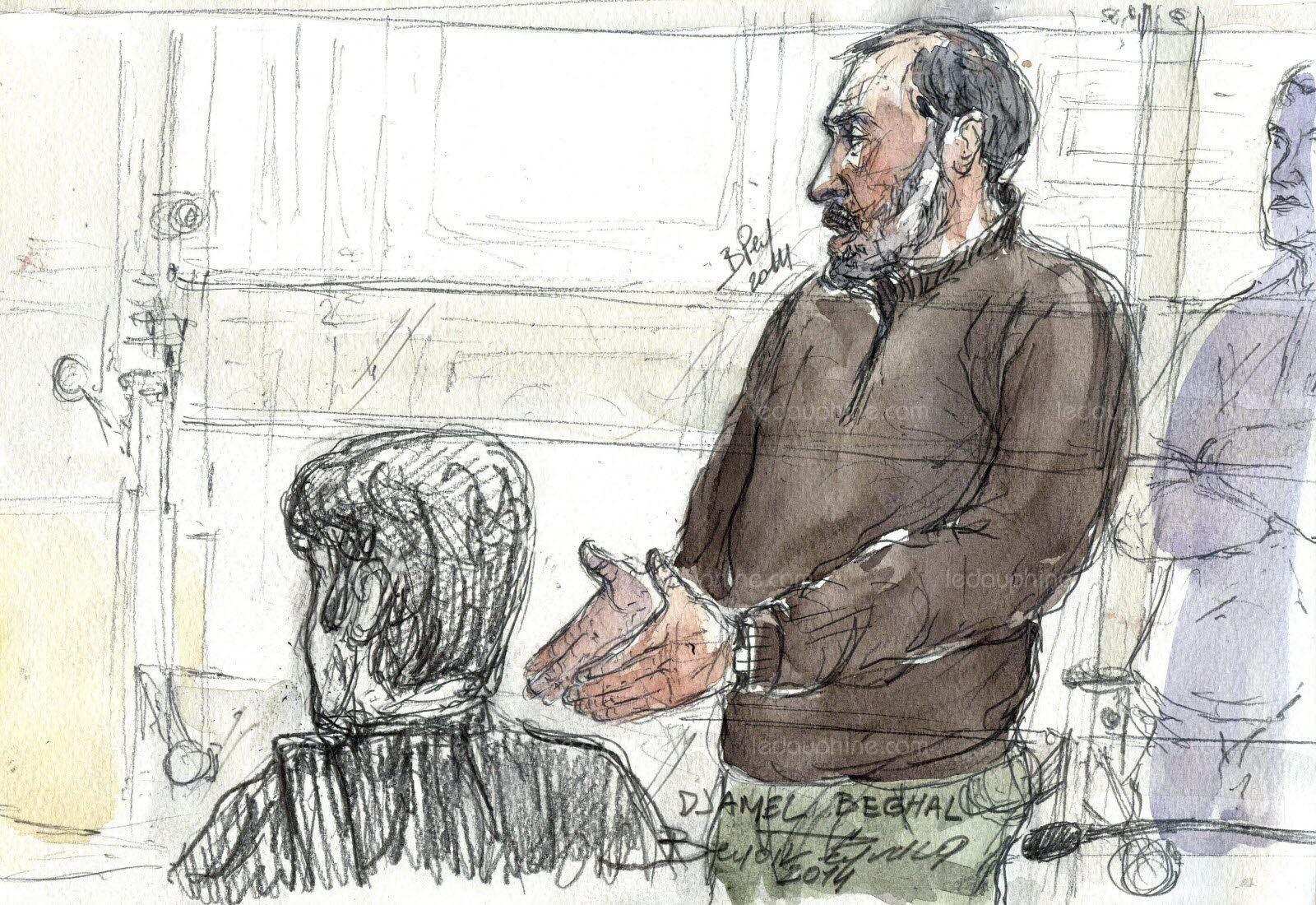 Terrorisme: Djamel Beghal remis aux autorités