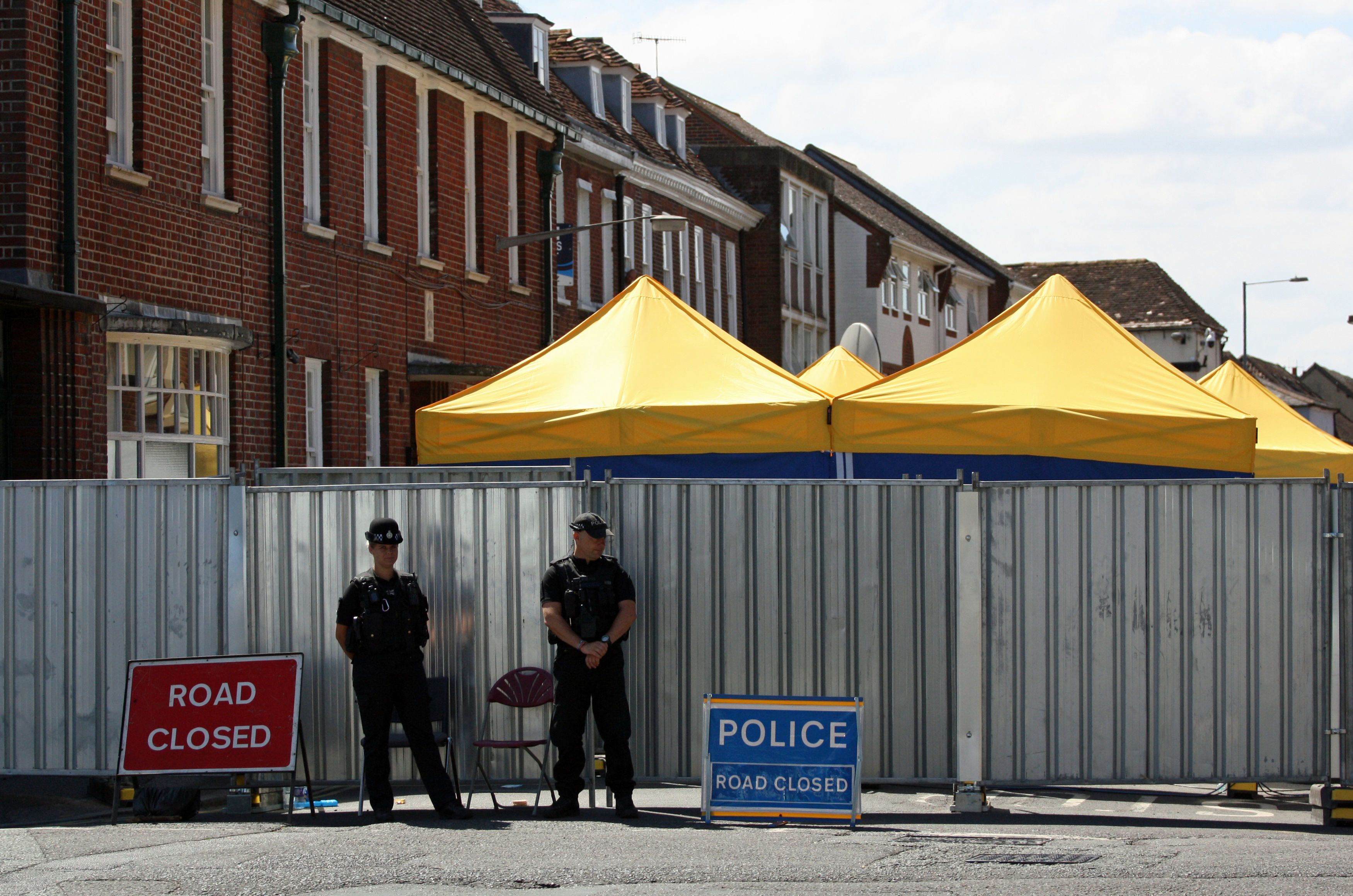 British Police Confirm Source Of Novichok Poisoning