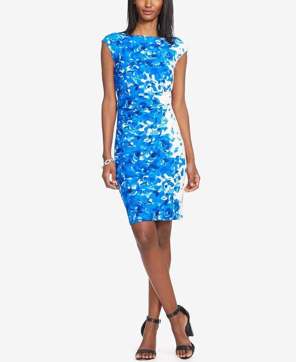 """<strong><a href=""""https://www.macys.com/shop/product/lauren-ralph-lauren-floral-print-sheath-dress-regular-petite-sizes?ID=663"""