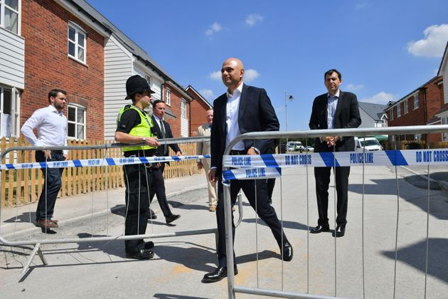 Home Secretary Sajid Javid visited Amesbury this month