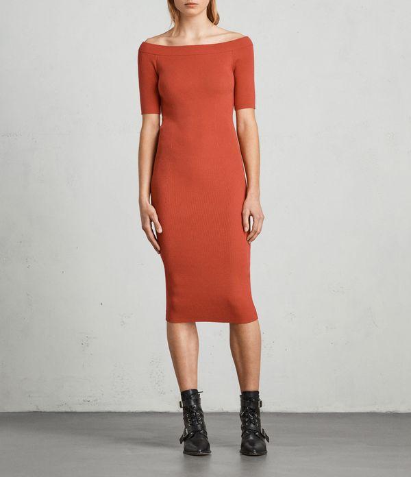 """<strong><a href=""""https://www.us.allsaints.com/women/dresses/allsaints-lavine-bandeau-dress/?colour=5225&category=22"""" targ"""