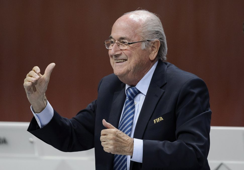 Sepp Blatter led FIFA for 17 years before resigning during the corruption scandal in 2015.