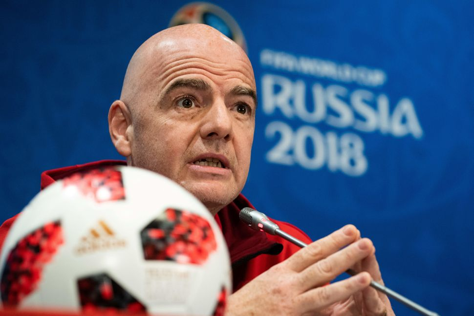 "Gianni Infantino took over as FIFA's president after the resignation of Joseph ""Sepp"" Blatter, who left the organization amid"